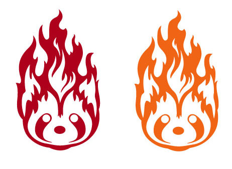 Sale! Avatar Fire Ferrets -Vinyl Decal Sticker For cars, laptops, and more!
