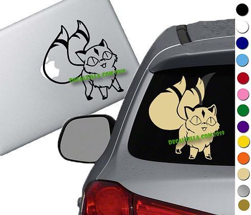 Inuyasha- Kirara - Vinyl Decal Sticker - For cars, laptops and more!