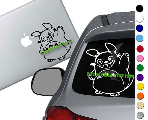 My Neighbor Totoro Wave - Vinyl Decal Sticker - For cars, laptops, and more!