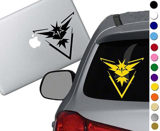 Pokemon Go- Instinct - Vinyl Decal Sticker - For cars, laptops, and more!