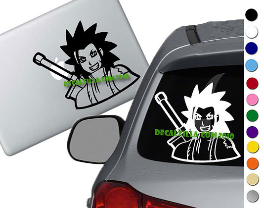 Final Fantasy 7 - Zack Fair - Vinyl Decal Sticker - For cars, laptops, and more!