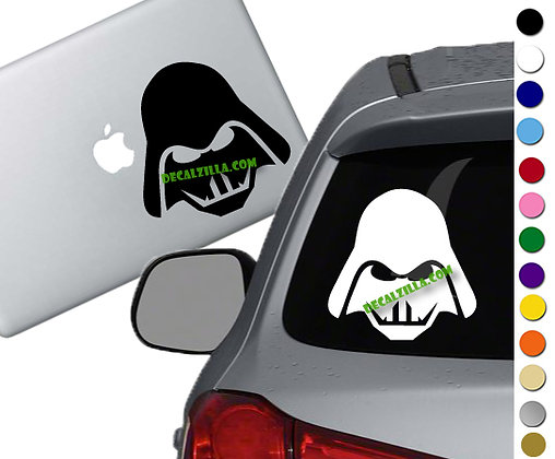"""Sale! 1.5"""" Darth Vader -Mini Vinyl Decal Sticker For cars, laptops, and more!"""
