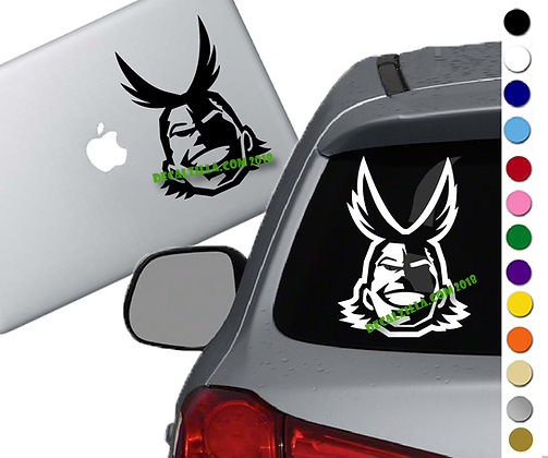 My Hero Academia - All Might - Vinyl Decal Sticker For cars, laptops, and more!