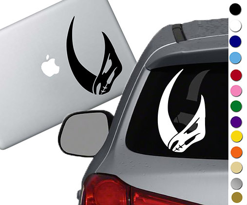 The Mandalorian - Mudhorn - Vinyl Decal Sticker - For cars, laptops and more!