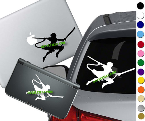 """Sale! 1.5"""" Anime Attack -Mini Vinyl Decal Sticker For laptops and more!"""