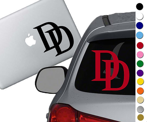 Dare Devil Symbol - Vinyl Decal Sticker - For cars, laptops, and more!