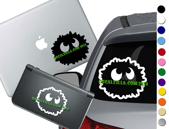 Soot Sprite Single - Vinyl Decal Sticker For cars, laptops, and more!