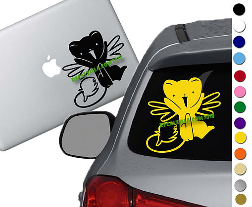 Cardcaptor Sakura Cerberus - Vinyl Decal Sticker - For cars, laptops and more!
