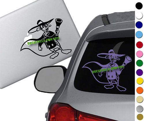 Darkwing Duck - Vinyl Decal Sticker - For cars, laptops, and more!