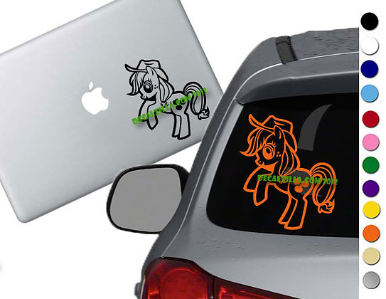 My Little Pony - Apple Jack - Vinyl Decal Sticker - For cars and more!