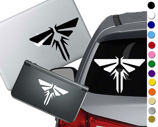 SALE! Last of Us Fireflies -Vinyl Decal Sticker For cars, laptops, and more!