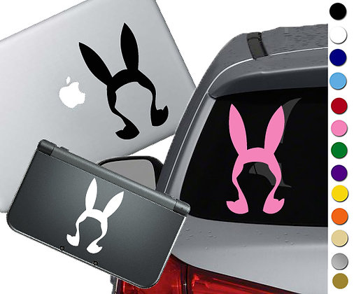 Bob's Burgers - Louise - Vinyl Decal Sticker For cars, laptops, and more!