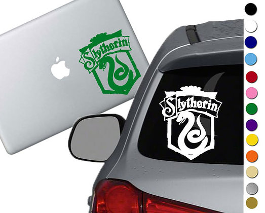 Harry Potter- Slytherin Emblem- Vinyl Decal Sticker - For car, laptops, and more