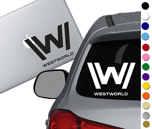 Westworld - Vinyl Decal Sticker - For cars, laptops and more!