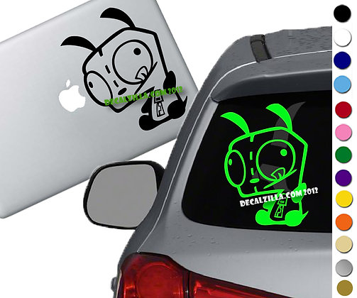 Invader Zim -GIR - Vinyl Decal Sticker - For cars, laptops, and more!