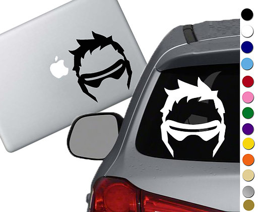 Overwatch - Soldier 76 - Vinyl Decal Sticker - For cars, laptops and more!