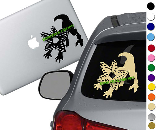 Stranger Things Demodog - Vinyl Decal Sticker - For cars, laptops and more!
