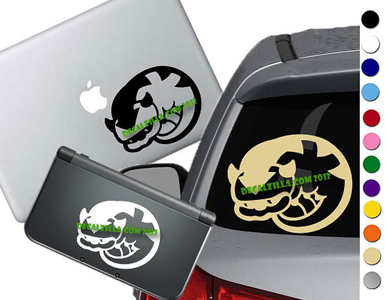 Avatar The Last Airbender- Appa Mini - Vinyl Decal For cars, laptops, and more!