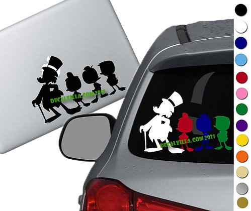 Ducktales 2017 - Vinyl Decal Sticker - For cars, laptops, and more!
