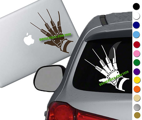 Nightmare on Elm Street - Vinyl Decal Sticker - For cars, laptops and more!