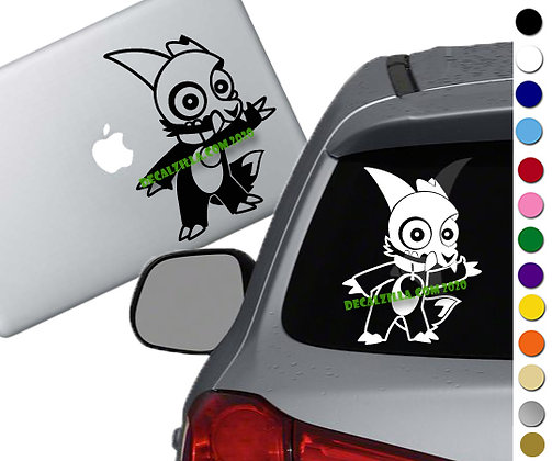 The Owl House - King of Demons- Vinyl Decal Sticker - For cars, laptops and more