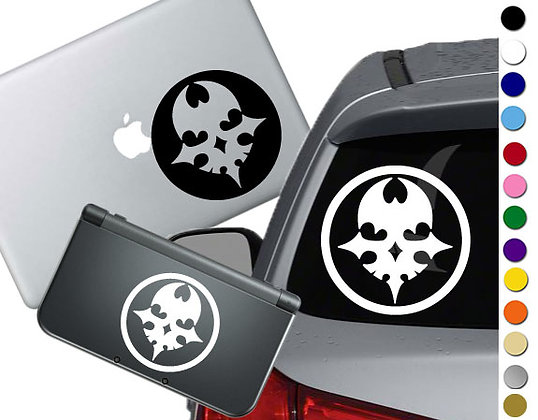 World Ends with You Pin- Vinyl Decal Sticker For cars, laptops, and more!