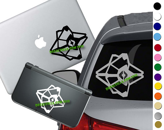 Destiny - Ghost Mini- Vinyl Decal Sticker For cars, laptops, and more!