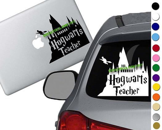 Harry Potter - Hogwarts Teacher - Vinyl Decal Sticker - For cars and more!