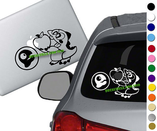 SALE! Bubble Bobble-Vinyl Decal Sticker For cars, laptops, and more!