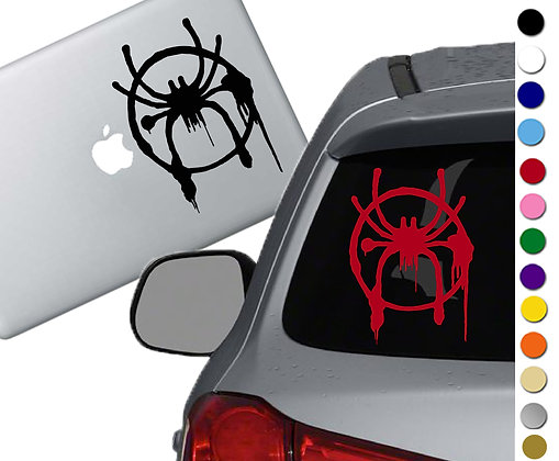 Spiderman into the Spider Verse - Decal Sticker - For cars, laptops, and more!
