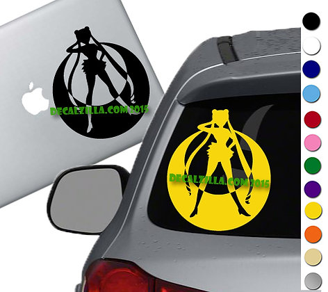 SALE! Sailor Moon -Vinyl Decal Sticker For cars, laptops, and more!