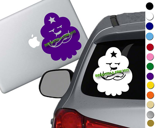 Sale! Lumpy Space Princess -Vinyl Decal Sticker For cars, laptops, and more!