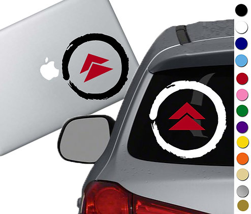 Ghost of Tsushima - Vinyl Decal Sticker - For cars, laptops, and more!