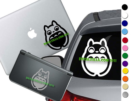 "Sale! 1.5"" Totoro -Mini Vinyl Decal Sticker For laptops, and more!"