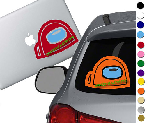 Among Us- Vote Peeker - Vinyl Decal Sticker For cars, laptops and more!