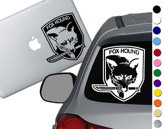 Metal Gear Solid - Vinyl Decal Sticker - For cars, laptops and more!