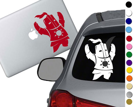 Dark Souls - Praise the Sun - Vinyl Decal Sticker - For cars, laptops and more!