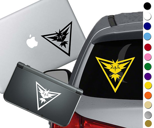 "Sale! 1.5"" Pokemon Go Instinct - Mini Vinyl Decal Sticker For laptops and more!"