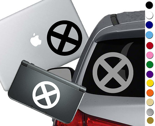 X men Symbol -  Vinyl Decal Sticker For cars, laptops, and more!