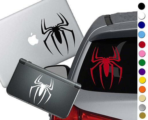 Spiderman Symbol - Vinyl Decal Sticker For cars, laptops, and more!