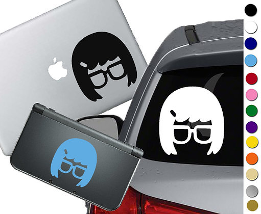 Bob's Burgers - Tina - Vinyl Decal Sticker For cars, laptops, and more!