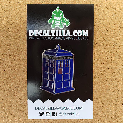 Doctor Who- Tardis - Hard Enamel Pin For Clothes, Backpacks and mor
