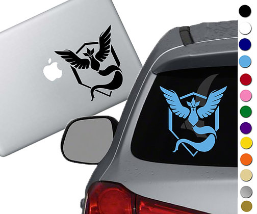 Pokemon Go - Mystic - Vinyl Decal Sticker - For cars, laptops and more!