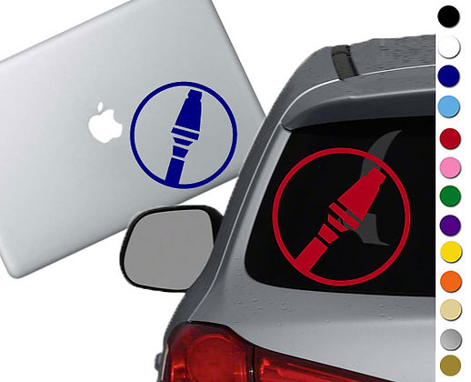 Team Fortress 2 - Soldier - Vinyl Decal Sticker - For cars, laptops and more
