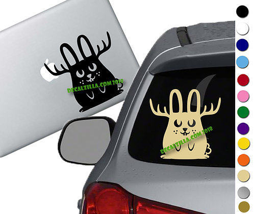 Jackalope - Vinyl Decal Sticker - For cars, laptops and more!