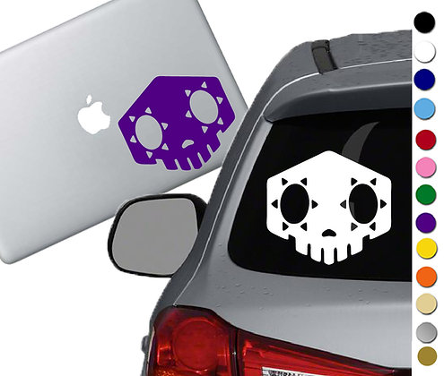 Overwatch - Sambra - Vinyl Decal Sticker - For cars, laptops, and more!