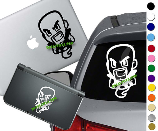 "Sale! 1.5"" Ghost Nappa -Mini Vinyl Decal Sticker For laptops, and more!"