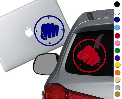 Team Fortress 2 - Heavy - Vinyl Decal Sticker - For cars, laptops and more!