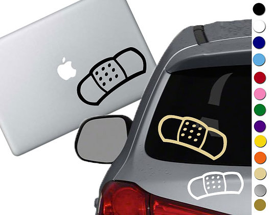 Band Aid - Vinyl Decal Sticker - For cars, laptops and more!