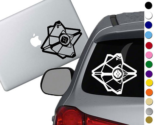 Destiny Ghost - Vinyl Decal Sticker - For cars, laptops and more!